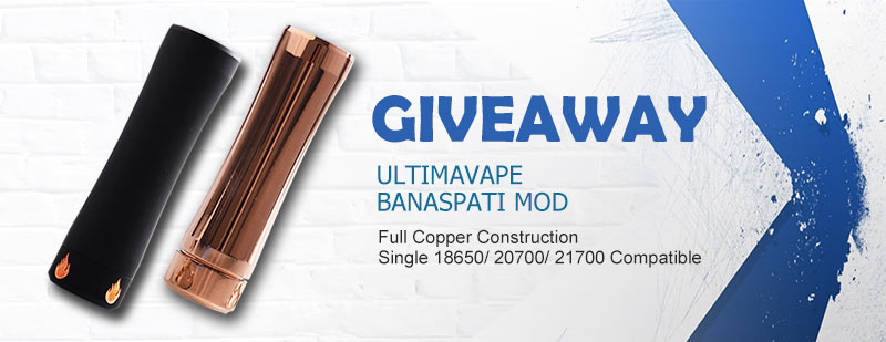 UltimaVape Banaspati Mechanical Mod