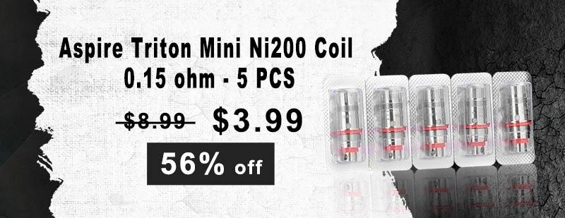 Aspire Triton Mini Ni200 Coil