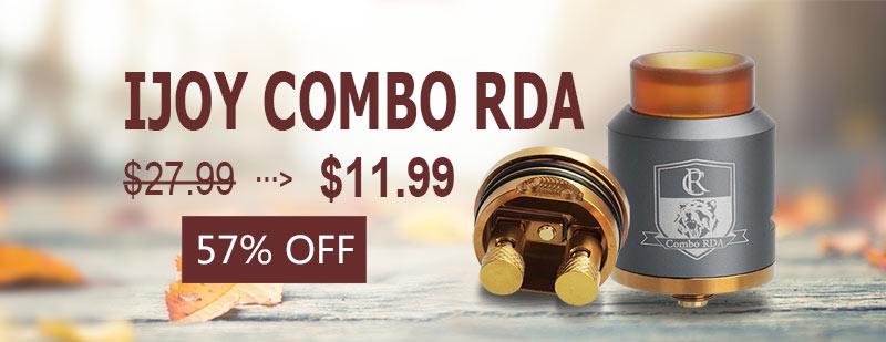 IJOY Combo RDA - Gun Metal