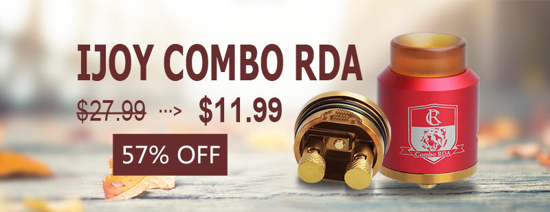 IJOY Combo RDA - Red