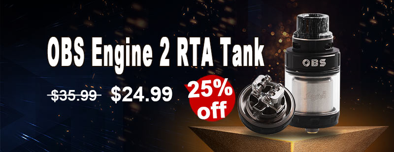 OBS Engine 2 RTA - Black