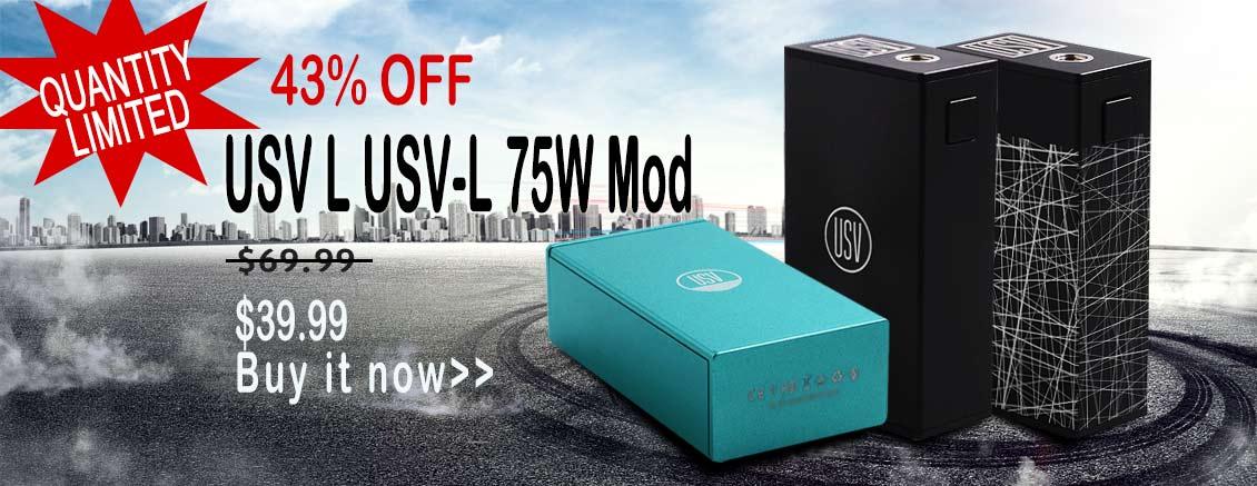 USV L 75W Box Mod