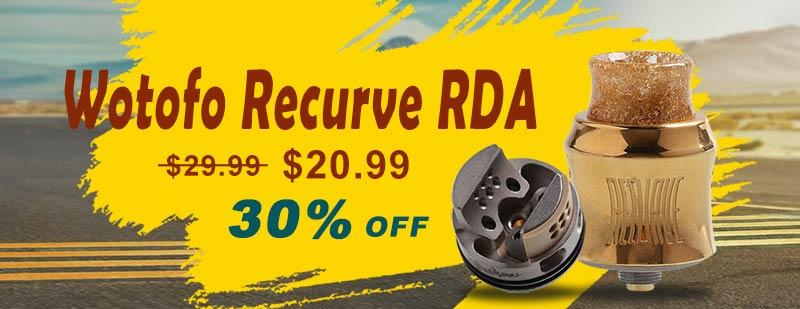 Wotofo Recurve RDA - Gold
