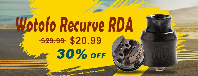 Wotofo Recurve RDA - Gun Metal