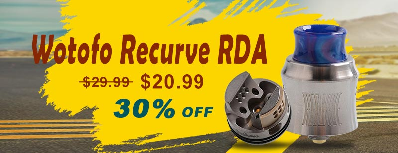Wotofo Recurve RDA - Silver
