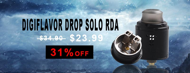 Digiflavor Drop Solo RDA - Black