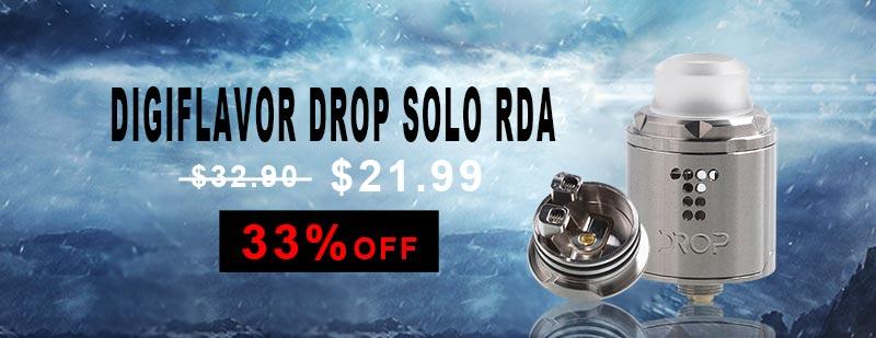 Digiflavor Drop Solo RDA - Silver