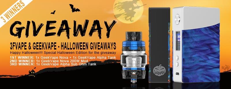 3FVape Geekvape Halloween Giveaway