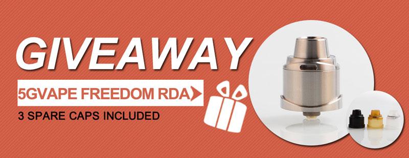 5GVape Freedom RDA Kit
