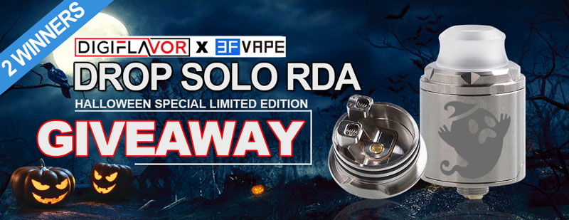 Digiflavor Drop Solo RDA Halloween version