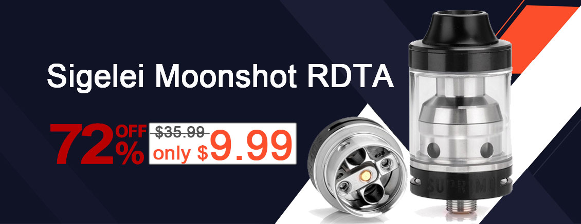 Sigelei Moonshot RDTA Flash Sale - 3FVAPE
