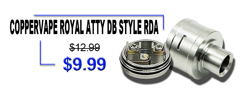 Coppervape Royal Atty DB Style RDA