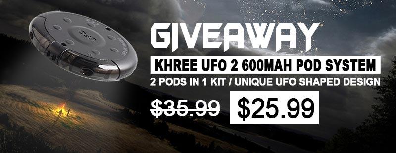 Khree UFO 2 Pod System