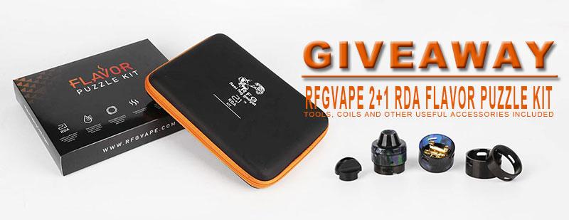 RFGVape 2+1 RDA Flavor Puzzle Kit