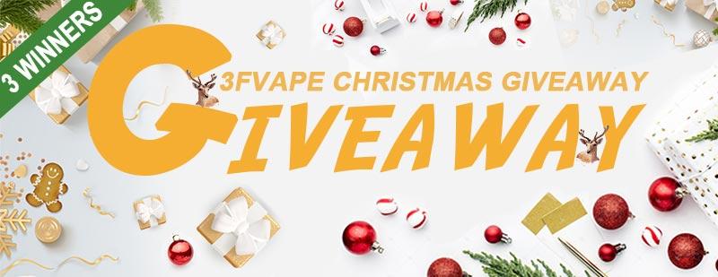 3FVape Christmas Giveaway