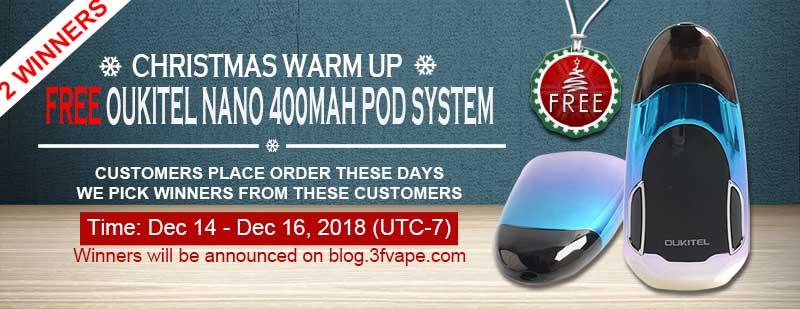 Oukitel Nano 400mAh Pod System