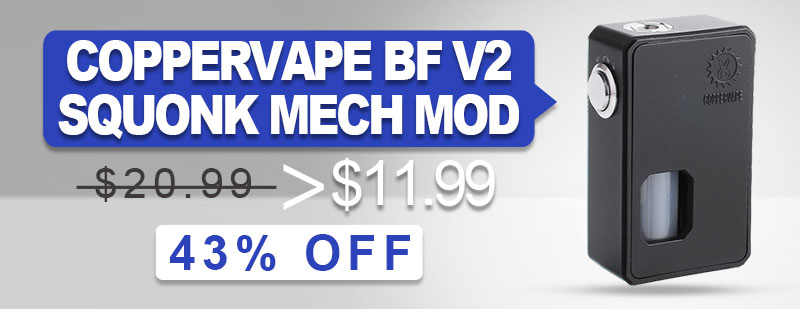 Coppervape BF V2 Squonk Mod