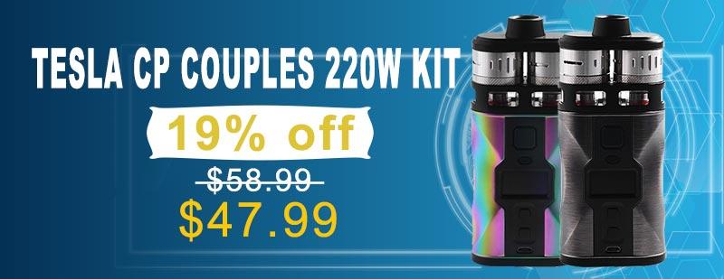 Tesla CP Couples 220W Kit