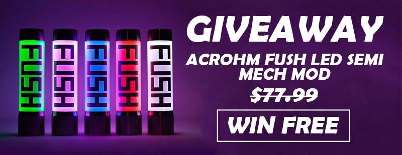 Acrohm Fush LED Semi-Mech Mod