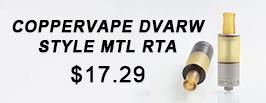 Coppervape Dvarw Style MTL RTA