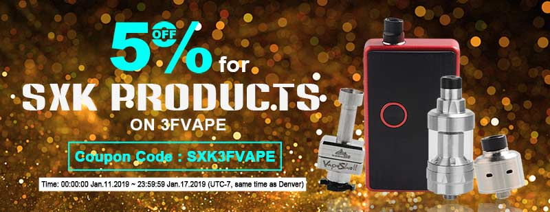 5% off for SXK Products