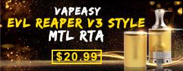 Vapeasy EVL Reaper V3 Style RTA