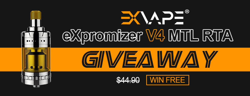 eXvape eXpromizer V4 MTL RTA