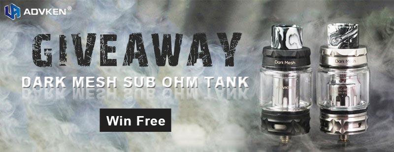 Advken Dark Mesh Sub Ohm Tank