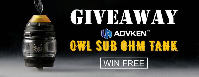 Advken Owl Sub Ohm Tank