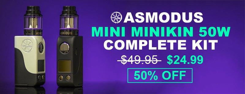 Asmodus Mini Minikin 50W Complete Kit