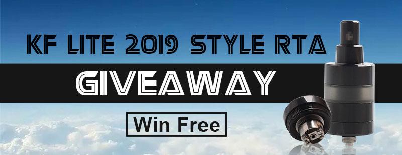 KF Lite 2019 Style RTA Giveaway