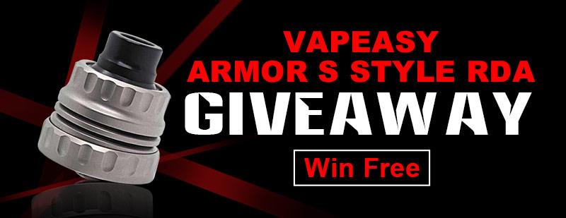 Vapeasy Armor S Style RDA