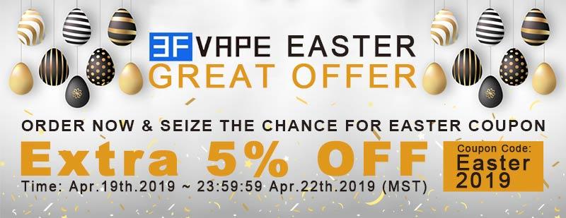 3FVape Easter Great Offer
