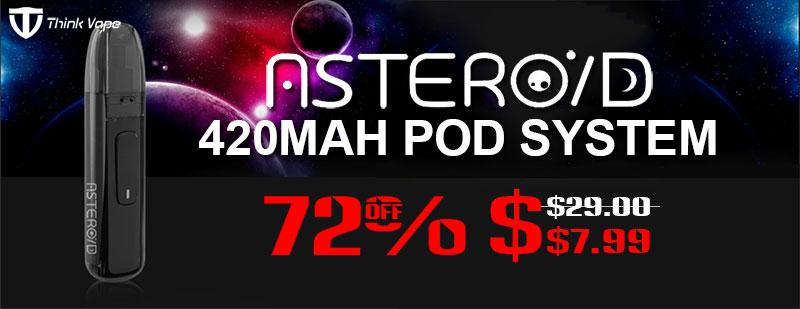 ThinkVape Asteroid 420mAh Pod System
