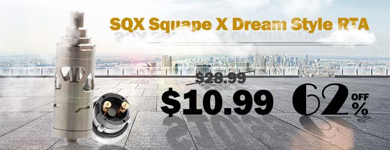 SQX Squape X Dream Style RTA