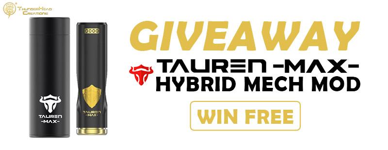 THC Tauren Max Hybrid Mech Mod