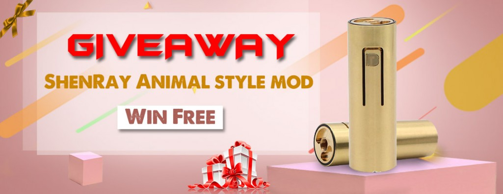 ShenRay Animal style mod Giveaway[Ended]
