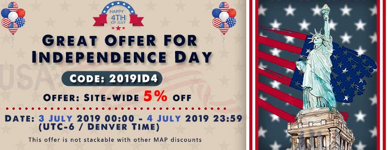 Independence Day Great Offer