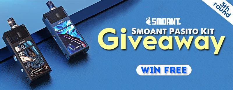 Smoant Pasito Kit Giveway 3th round