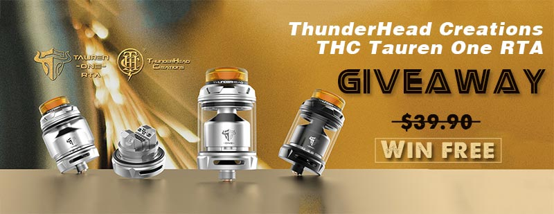 ThunderHead Creations THC Tauren One RTA Giveaway