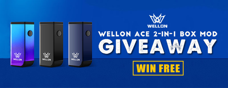 Wellon ACE 2-in-1 Box Mod Giveaway