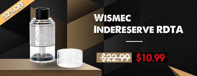 Wismec-IndeReserve-RDTA