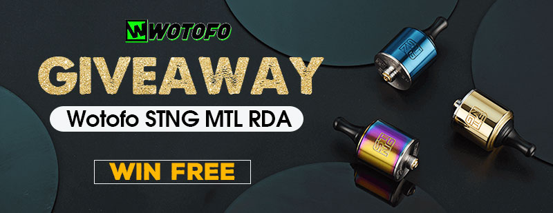 Wotofo STNG MTL RDA Giveaway