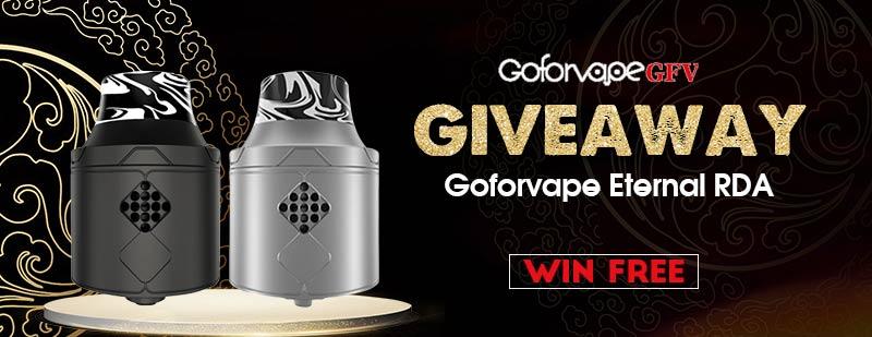 Goforvape Eternal RDA Giveaway