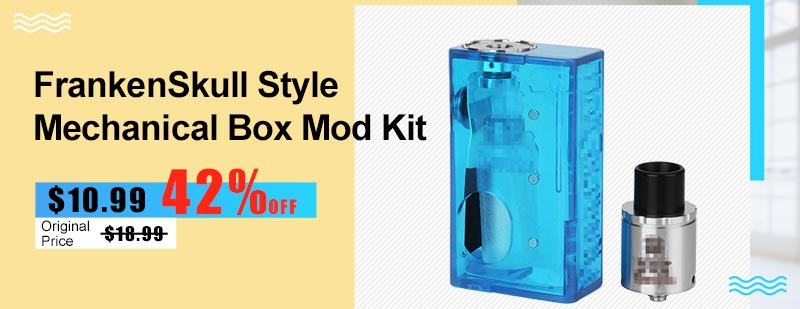 FrankenSkull-Style-Mechanical-Box-Mod-Kit