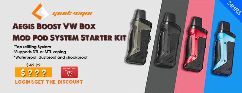 Geekvape-Aegis-Boost-VW-Box-Mod-Pod-System-Starter-Kit