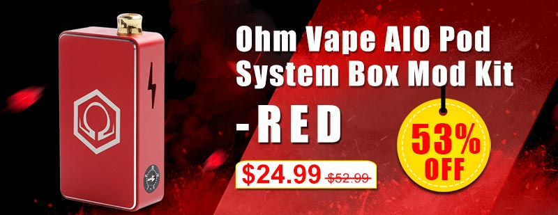 Ohm-Vape-AIO-Pod-System-Box-Mod-Kit---Red