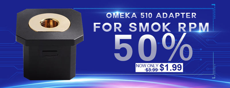 OMEKA 510 Thread Adapter for SMOK RPM 40W