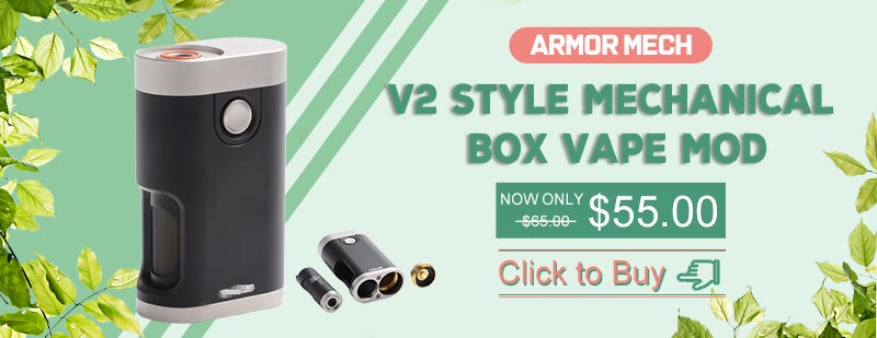Vapeasy Armor Mech V2 Style BF Bottom Feeder Squonk Mechanical Box Vape Mod