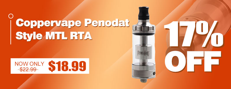 Coppervape Penodat Style MTL RTA